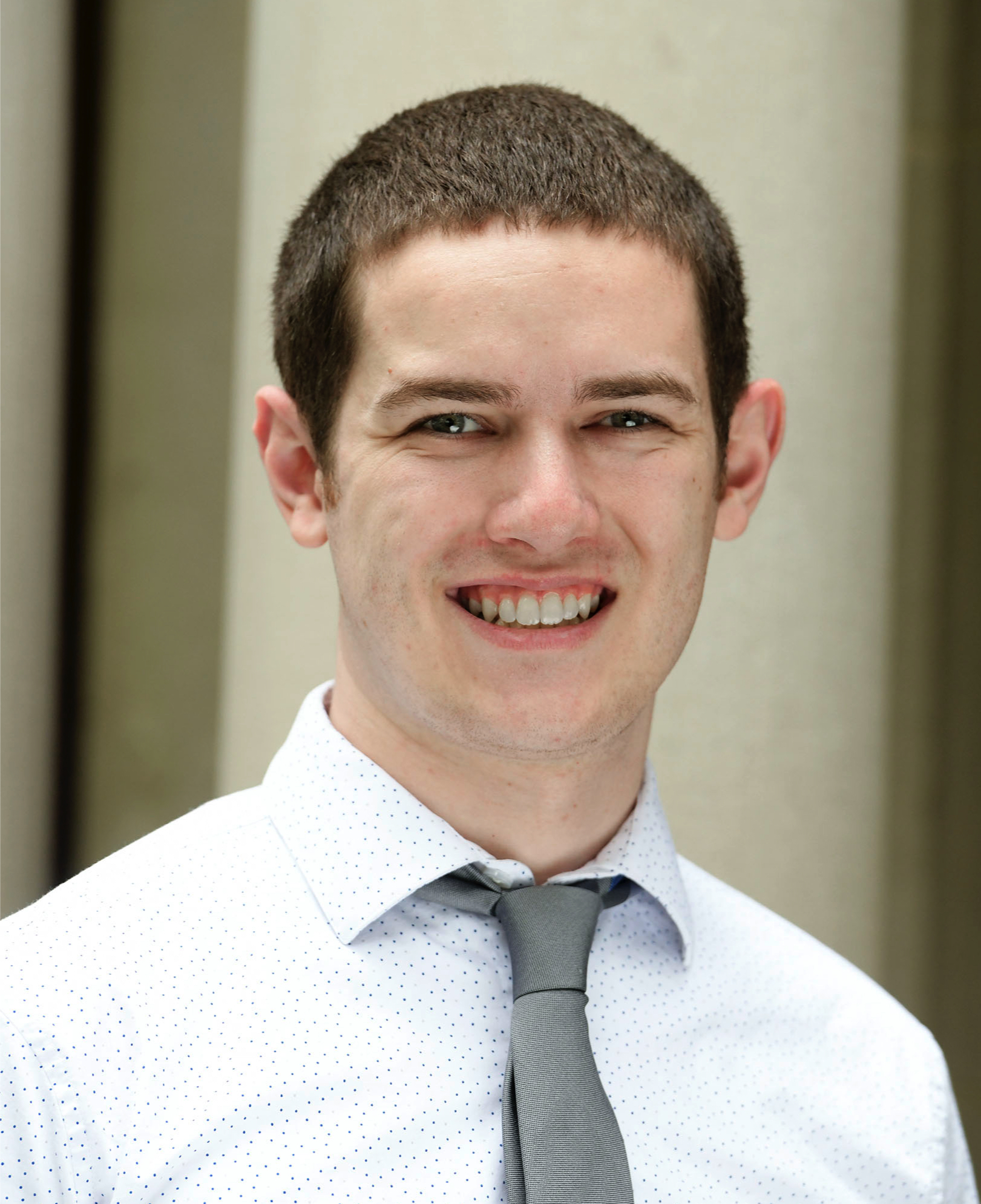 Collin Carollo, Building Operations and Programs Associate